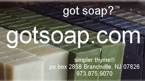 got soap?